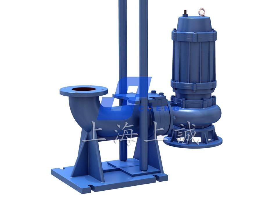 WQ潜水固定式高效无堵塞排污泵